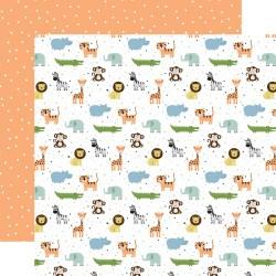 Лист скрапбумаги  BABY BOY Bundle Of Joy 30,5*30,5 см, Echo Park Paper