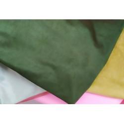 Замш двухсторонняя Зеленый, средней плотности 25*37см