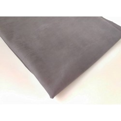 Замш двухсторонняя Темно серый, средней плотности 25*37см
