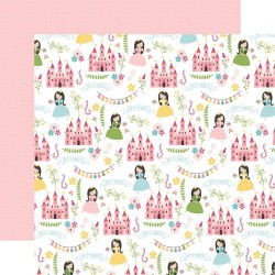 Лист скрапбумаги Pretty Princess All Girl 30,5*30,5 см, Echo Park Paper