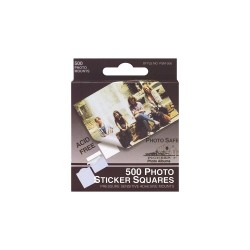 "Photo Sticker Squares .5"" 500/Pkg"