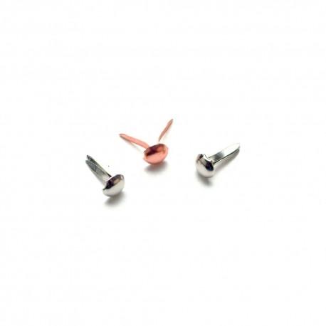 Набор брадсов Микс 100 шт Mini Metal Paper Fasteners 3mm