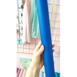 Итальянский переплетный кожзам Синий матовый 25*35 см