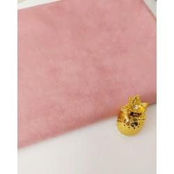 Замш Нежно Розовая на дайвинге 25*37 см