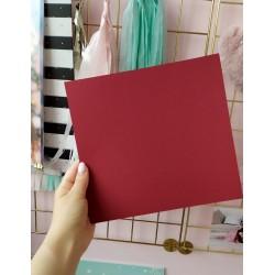 Дизайнерский картон бордо 21*22,5 см, плотность 270 гр