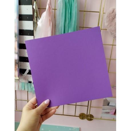Дизайнерский картон фиолетовый 21*22,5 см, плотность 270 гр