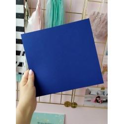 Дизайнерский картон синий 21*22,5 см, плотность 270 гр