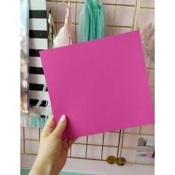 Дизайнерский картон фуксия 21*22,5 см, плотность 270 гр