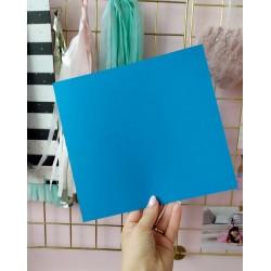 Дизайнерский картон бирюза 21*22,5 см, плотность 270 гр
