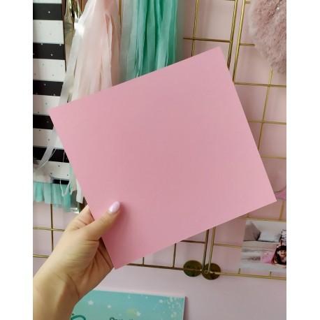 Дизайнерский картон розовый 21*22,5 см, плотность 270 гр