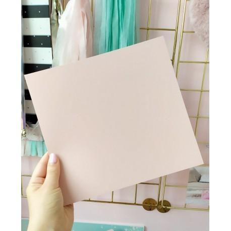 Дизайнерский картон пудра 21*22,5 см, плотность 285 гр