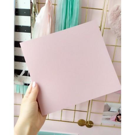 Дизайнерский картон пудра с легкой факторой 21*22,5 см, плотность 250 гр