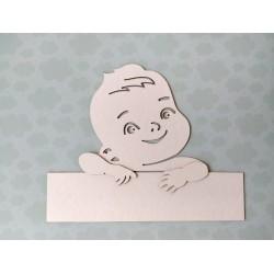 Заготовка для тиснения Мальчик 3D, 21х17см , толщина 1,5мм для тиснения на замше