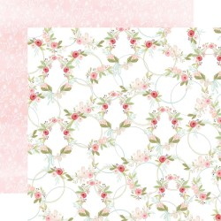 Лист скрапбумаги Flora No. 3 Subtle Wreaths - 30,5х30,5см - Carta Bella